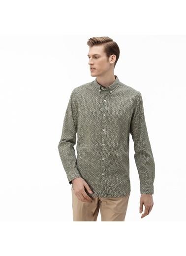 Lacoste Erkek Slim Fit Gömlek CH0009.09Y Yeşil